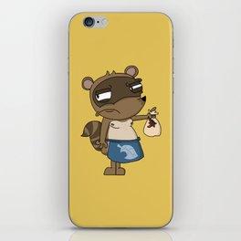 Tom Nook - Animal Crossing iPhone Skin
