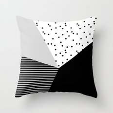 Geometry Blocks 10 Throw Pillow