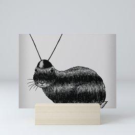 Fuzzy Reception Mini Art Print