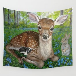 Forest Friends Wall Tapestry