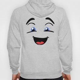 Emoji happy face Hoody
