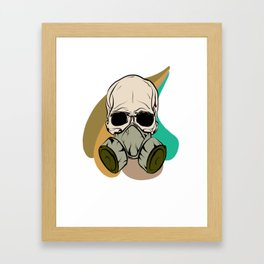 Basic Toxicity Framed Art Print