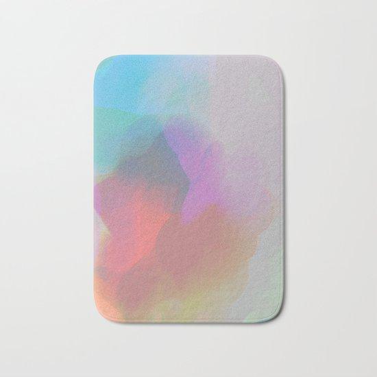 watercolor paint Bath Mat