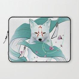 Frozen Kitsune Laptop Sleeve
