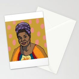 Maya Angelou Stationery Cards