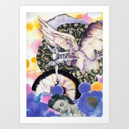 Please Angel Art Print