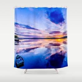 Newburgh Sunset Shower Curtain