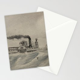 "H.E. Valentine - Steamer ""Champion"", between Fortress Monroe and Newport News, Virginia, 1863 Stationery Cards"