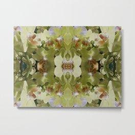 Orchid (Mandala-esque #123a) Metal Print