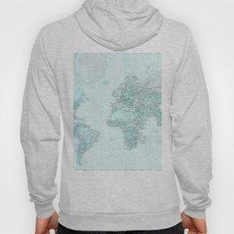 World Map Landscape Hoody