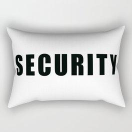 SECURITY TEE SHIRT inverse edition Rectangular Pillow