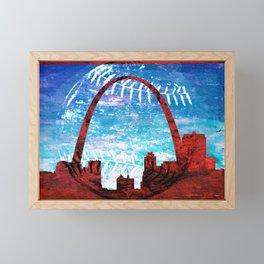 St. Louis baseball Framed Mini Art Print