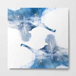 Winter Echo Metal Print