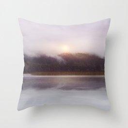 Sunset v5 Throw Pillow