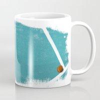 tennis Mugs featuring Tennis by Matt Irving