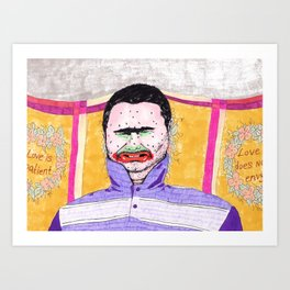 Don't Judge Me Art Print