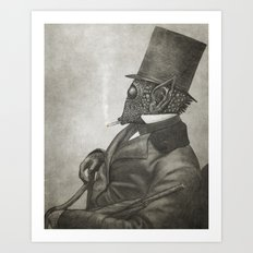 The Earl of Eisley  Art Print