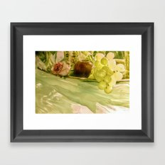 A touch of paradise Framed Art Print