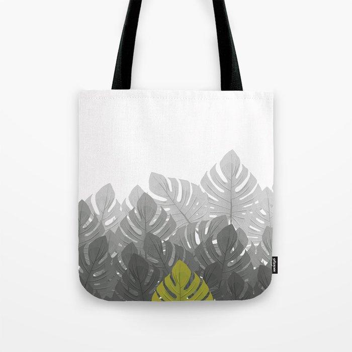 Tropical leaves 03 Tote Bag