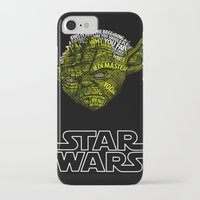 yoda iPhone & iPod Cases featuring Yoda by Stormega