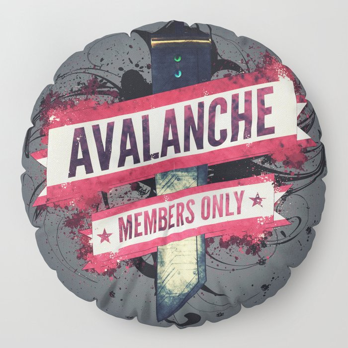 Final Fantasy VII - Avalanche Member's Only Floor Pillow