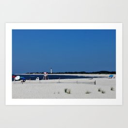 Summer, in spite of itself Art Print