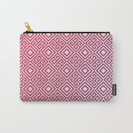 Magenda Geometric Pattern Carry-All Pouch