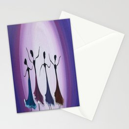 Dancing in the moonlight Stationery Cards
