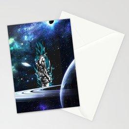 super sayian jin blue Stationery Cards