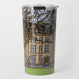 Cambridge struggles: Gonville and Caius College Travel Mug
