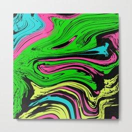 Crazy Fluid By pahagh Metal Print