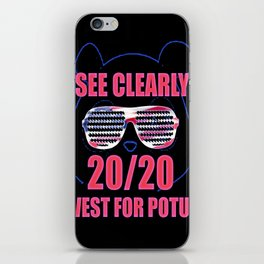 See Clearly 2020 iPhone Skin