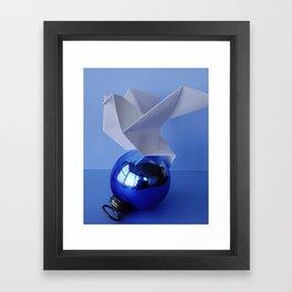 Origami Dove 1 Framed Art Print