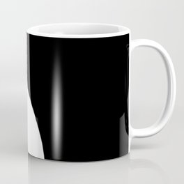 Yin and Yang BW Coffee Mug