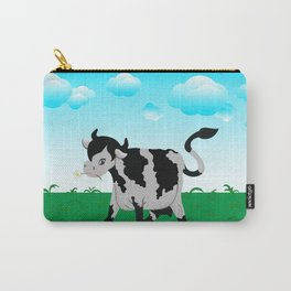 Cow on a meadow Carry-All Pouch
