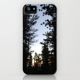 Twilight in the Pines iPhone Case
