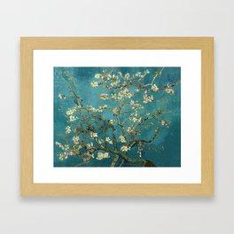 Amendoeira em flor Framed Art Print