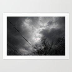 Storms Approaching Art Print