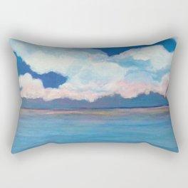 Pink Clouds at Sea Rectangular Pillow