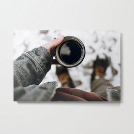 Morning Coffee II Metal Print