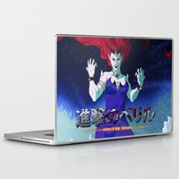 attack on titan Laptop & iPad Skins featuring Attack on Beryl by TwinEnigmaDesign