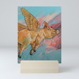 Flying Pig Mini Art Print