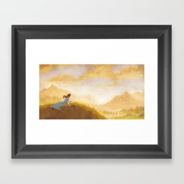 Great Big Somewhere Framed Art Print