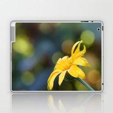 yellow flower II Laptop & iPad Skin