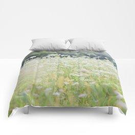 In a Field of Wildflowers Comforters