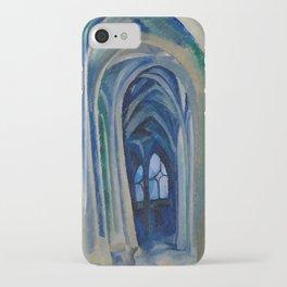 Robert Delaunay - Saint-Severin,1909 iPhone Case