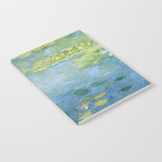 Water Lilies 1906 by Claude Monet Notebook