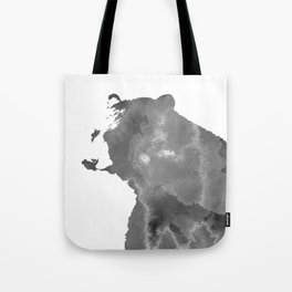 graphic bear II Tote Bag
