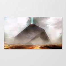 Future Desert Vessel Canvas Print