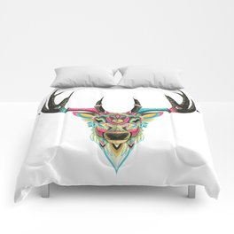 Color Deer Comforters